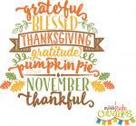 Thanksgiving Word Art