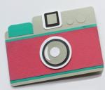 Camera Shaped Card