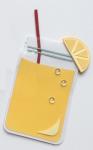 Lemonade Shaped Card