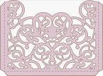 Elegant Card Sleeves Collection: Elegant Heart Envelope