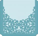 Elegant Card Sleeves Collection: Lace Square Envelope