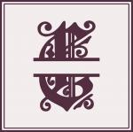 Split Monogram Collection: C