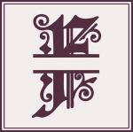 Split Monogram Collection: F