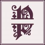 Split Monogram Collection: P
