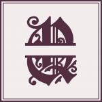 Split Monogram Collection: Q