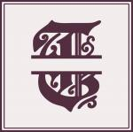 Split Monogram Collection: T