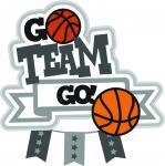 Go Team Go Basketball Title