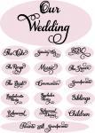 Wedding Embellishment Collection>Printable Tags 2