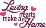 Loving Hearts Make a Home