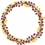 Leaves and Laurels Collection: Fall Berries Wreath