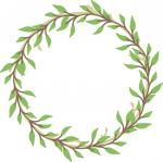 Leaves and Laurels Collection: Young Leaves Wreath