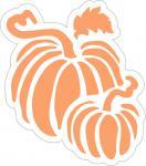 Autumn Harvest Collection: Pair of Pumpkins