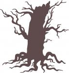 At the Graveyard Collection: Gnarled Dead Tree