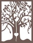 Gatefold Card Collection: Heart in Tree 4.25 x 5.5