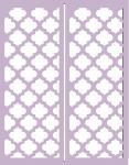 Gatefold Card Collection: Lattice 4.25 x 5.5