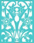 Gatefold Card Collection: Snowflake 4.25 x 5.5