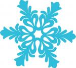 Twas the Night Before Christmas Collection: Fancy Snowflake