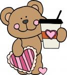 Bear with Heart Cup