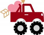 Valentine Monster Truck