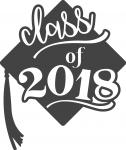 Graduate Collection: Class of 2018 with Grad Cap