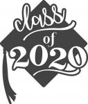 Graduate Collection: Class of 2020 with Grad Cap
