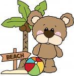 Bear with Palm Tree