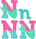 Mermaid Font Collection: N