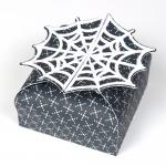 Halloween Easy Treat Boxes: Spider Web Box