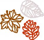 Gatefold Cards Collection 2: Fall Leaves
