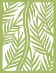 Gatefold Cards Collection 2: Palm Leaf 4.25 x 5.5