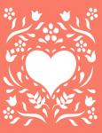 Gatefold Cards Collection 2: Spring Heart 4.25 x 5.5