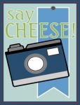 Scrapbook Pocket Cards Collection: Say Cheese