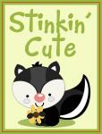 Scrapbook Pocket Cards Collection: Stinkin' Cute