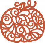 Pumpkin State Collection: Paisley Pumpkin