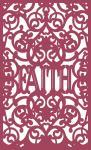 Lacy Box Collection: Faith Panel