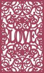 Lacy Box Collection: Love Panel