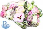 Watercolor Bridal Flowers Click HERE for SVG