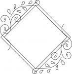 SLF Entwine Collection: Diamond Vine Frame