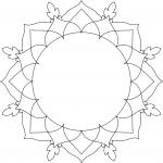 SLF Entwine Collection: Mandala Frame