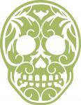 Leaves Sugar Skull-2