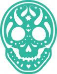 Paisley Sugar Skull-2