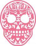 Rose Sugar Skull-2