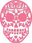 Rose Sugar Skull-1