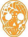 Spider Web Sugar Skull-2