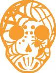 Spider Web Sugar Skull-1