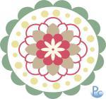 Flower Medallion Click HERE for SVG