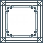 Art Deco Square Frame 2