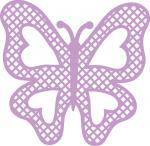 Lattice Lace Butterfly