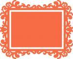 Ornate Rectangle Frame
