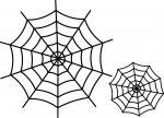 Spider Webs Single Stroke
